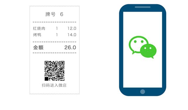 微信下单:来钱快收银机引领微信营销潮流